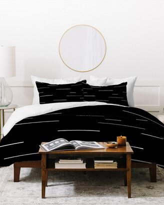 Deny Designs Kelly Haines Modern Lines V2 Duvet Cover Set
