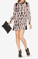 BCBGMAXAZRIA Karla Deco-Printed Dress