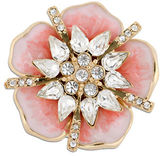 Jones New York Boxed Faceted Stone Flower Pin