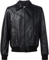 Saint Laurent 70s sunburst leather jacket