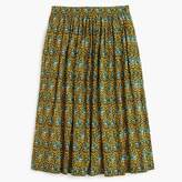 J.Crew Ratti® elephant print skirt