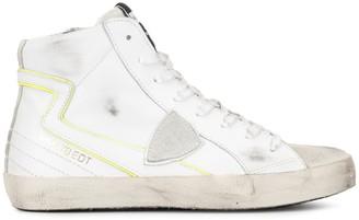 Philippe Model Paris logo hi-top sneakers