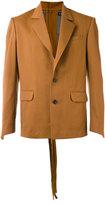 Y/Project Y / Project - flap pockets blazer - unisex - Acetate/Wool - XXS