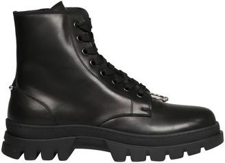 Neil Barrett Pierced Punk Boot