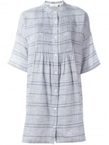 Rag & Bone striped shirt dress