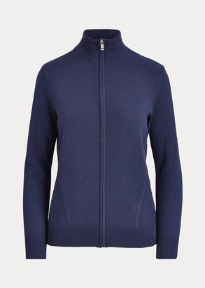 Ralph Lauren Cashmere-Blend Golf Sweater