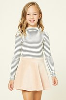 Forever 21 FOREVER 21+ Girls Striped Top (Kids)