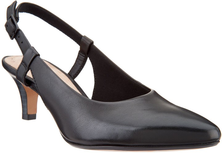 332d21d0fa8 Collection Leather Slingback Pumps - Linvale Loop