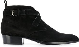Saint Laurent lace-up ankle boots
