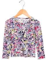 Junior Gaultier Girls' Printed Long Sleeve Top