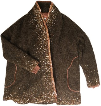 Tsumori Chisato Brown Wool Coat for Women