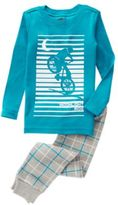Crazy 8 Moonlight Ride 2-Piece Pajama Set