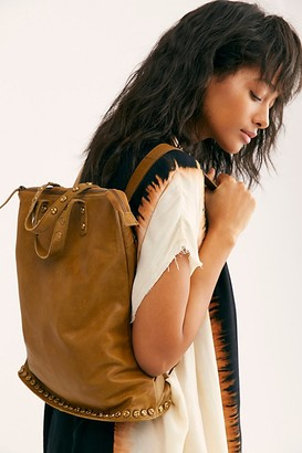 Free People Fp Collection Ellie Leather Studded Backpack by FP Collection at