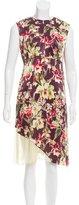 Jean Paul Gaultier Floral Print Sheath Dress