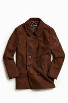 Schott Wool Slim Fit Top Coat