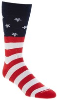 Lorenzo Uomo Men's Americana Crew Socks