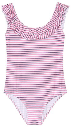 Melissa Odabash Kids Missy striped swimsuit