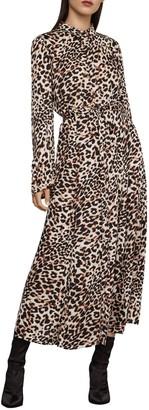 BCBGMAXAZRIA Leopard-Print Dress