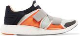 adidas by Stella McCartney Pureboost mesh-paneled stretch-knit sneakers