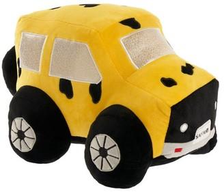 Hiccups Kalahari Safari Truck Yellow Novelty Cushion
