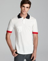 This is Not a Polo Shirt by Band of Outsiders Inside Out Slim Polo