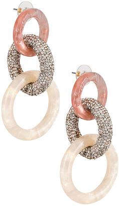 Lele Sadoughi Enchanted Hoop Earring