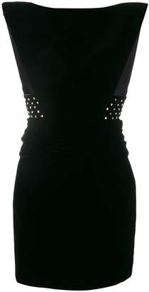 Saint Laurent hourglass-shape mini dress