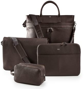 Mark & Graham Graham Leather Messenger Briefcase