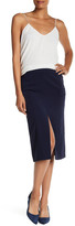 Laundry by Shelli Segal Crepe Cargo Pencil Skirt