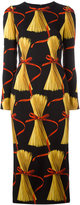 Dolce & Gabbana spaghetti print dress - women - Silk/Elastodiene/Spandex/Elastane - 40