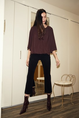 Velvet by Graham & Spencer Candace Corduroy High Rise Crop Jean