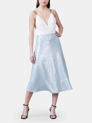 Allen Schwartz Avila A-Line Midi Dress