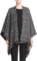 Missoni Zigzag Stripe Wool Blend Cape (Nordstrom Exclusive)