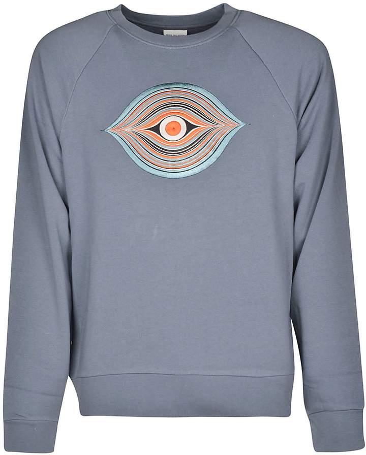 Dries Van Noten Embroidered Eye Motif Sweater