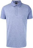 HUGO BOSS classic polo top - men - Cotton/Linen/Flax - S