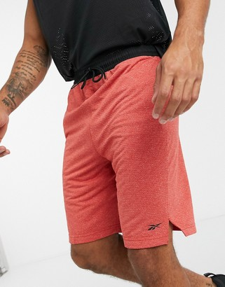 Reebok workout-ready performance shorts in legacy red