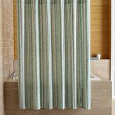 Crate & Barrel Pearl Strings Shower Curtain