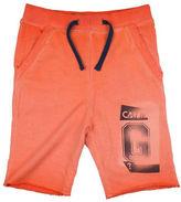 Guess Washed Logo-Print Shorts