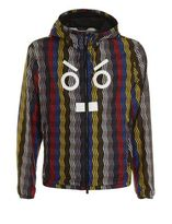 Fendi Rain Jacket Multicolor Zig Zag