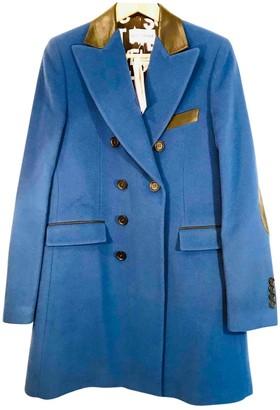 Each X Other Each X Blue Wool Coat for Women