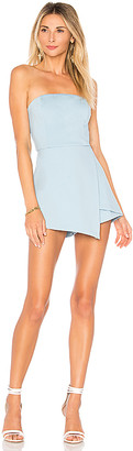 superdown Avery Strapless Romper