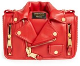 Moschino 'Biker Jacket' Shoulder Bag - Red