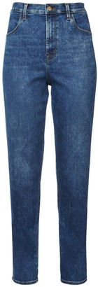 J Brand Mia High Waist Denim Straight Leg Jeans