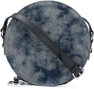 Diesel Tie-Dye Denim Crossbody Bag
