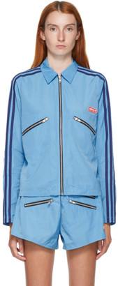 adidas LOTTA VOLKOVA Blue Zip Shirt Jacket
