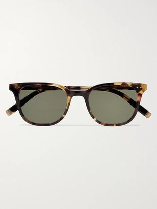 MOSCOT Loren Round-Frame Tortoiseshell Acetate Sunglasses