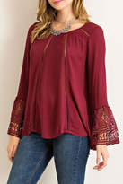 Entro Scoop Neckline Top