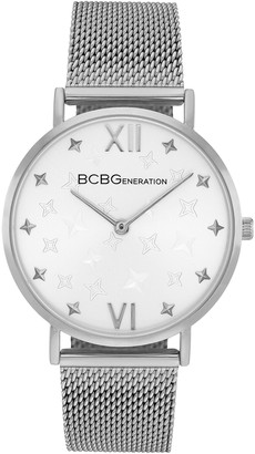 BCBGeneration Women's Stainless Steel Mesh Strap Watch