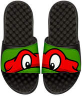 ISlide Teenage Mutant Ninja Turtles Raphael Slide Sandal, Black