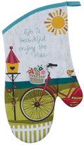 Kay Dee Designs R3205 Enjoy the Ride Bicycle Oven Mitt